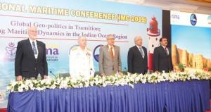 البحرية تنظم ندوة الانتقال العالمي لسياسة ديناميكية في المحيط الهندي
