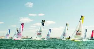 بيجافلور الفرنسي في صدارة الترتيب العام للطواف العربي والعُمانية للنقل البحري ثانياً في ختام الجولة الثالثة بجزيرة مصيرة