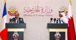قطر وفرنسا توقعان اتفاقا (استراتيجيا) للتعاون