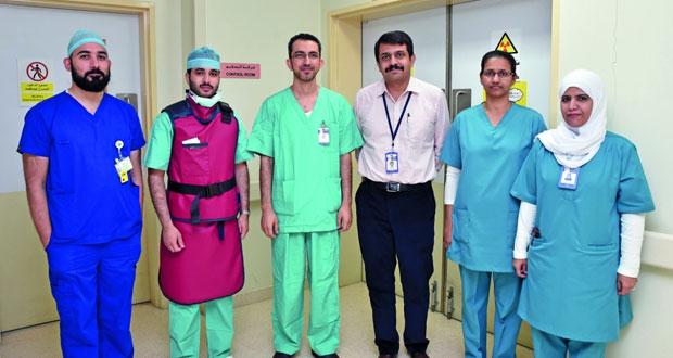 مستشفى خولة يجري 7 عمليات لعلاج تشوه في مجرى شرايين الدم المغذية للدماغ
