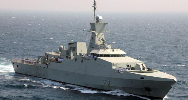 """البحرية السلطانية العمانية تختتم مشاركتها في """" أمان19 """""""