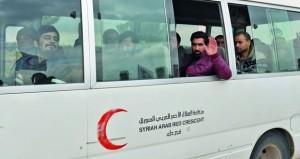 سوريا : الجيش يدمر تحصينات إرهابية بريف حماة