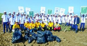 البيئة : جهود لإعادة تأهيل الأراضي المتدهورة وزراعة 664 ألف شتلة من أشجار القرم
