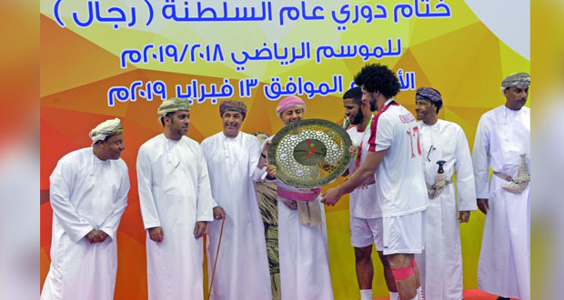 في نهائي مثير تتويج نادي عمان بطلا لدوري عام كرة اليد ومسقط وصيفا وصحار ثالثا