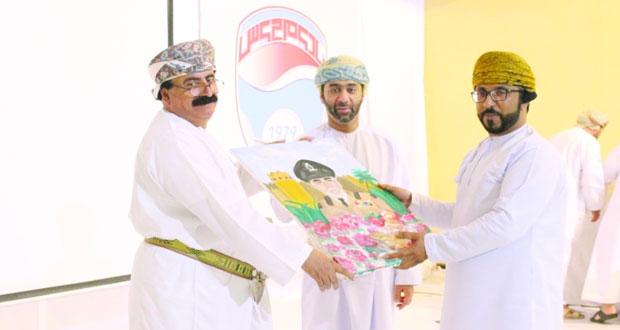 نادي مجيس يحتفل بتكريم الفائزين في مسابقة الإبداعات الشبابية