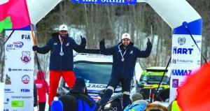 عبدالله الزبير يحقق المركز الثاني في باها روسيا رغم الأجواء الثلجية الصعبة