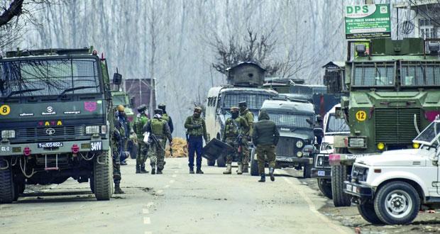 الهند تعلن عن مقتل اثنين من مدبري تفجير كشمير و4 من جنودها