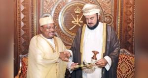 رسالة لجلالة السلطان من رئيس جمهورية القمر