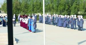 بدء فعاليات المخيم الخليجي التاسع للمرشدات بمخيم السلطان قابوس الكشفي بالملدة