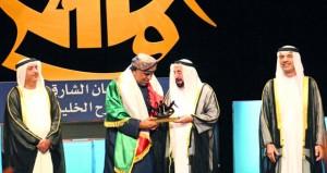 """""""مدق الحناء"""" يتّوج بـأفضل عرض متكامل وجائزة أفضل إضاءة في مهرجان الشارقة للمسرح الخليجي"""