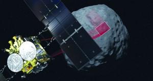 مركبة فضاء يابانية تهبط على كويكب لجمع عينات يبعد 340 مليون كيلومتر عن الأرض