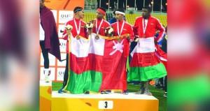 4 ميداليات جديدة لمنتخب ألعاب القوى للناشئين في البطولة الخليجية بقطر