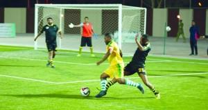 اليوم أربع مباريات في البطولة الكروية الثانية عشرة لوحدات شؤون البلاط السلطاني