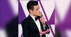 """فيلم """"كتاب أخضر"""" يفوز بأوسكار أفضل فيلم ورامي مالك أفضل ممثل"""