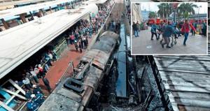 مصر : عشرات القتلى والجرحى بحريق هائل في محطة قطارات القاهرة