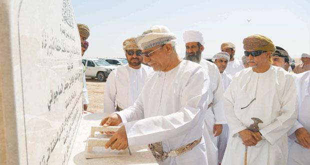 """يبدأ بطرح منتجاته بالأسواق في شهر رمضان القادم وضع حجر الأساس لمشروع """"النماء للدواجن"""" بعبري باستثمارات تبلغ 100 مليون ريال عماني"""