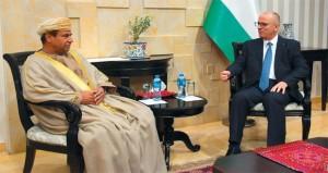الحمدلله يستقبل سفير السلطنة