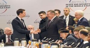 قمة وارسو: أميركا تدعو الشرق الأوسط لـ(عهد جديد) من التعاون