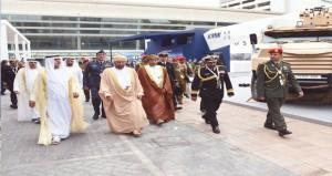 تحيات جلالته لرئيس الإمارات نقلها بدر بن سعود