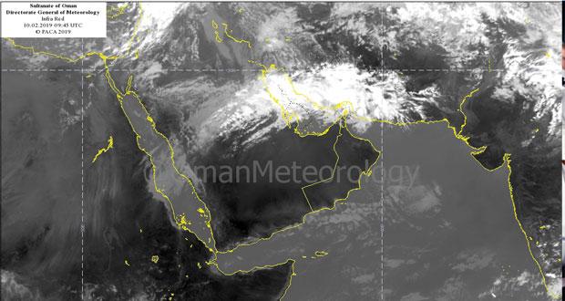 طقس بارد بشكل عام وجبل شمس يسجل 3 درجات مئوية توقعات بأمطار متفرقة على الأجزاء الشمالية من مسندم وبحر عمان ابتداء من اليوم