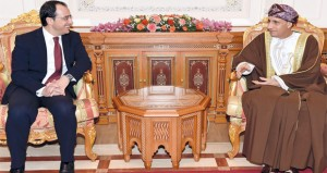 فهد بن محمود يستعرض وزير خارجية قبرص العلاقات الثنائية بين البلدين