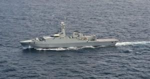 البحرية السلطانية العمانية تختتم التمرين البحري المشترك ( خنجر حاد )