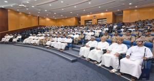ندوة توعية بقيادة شرطة محافظة البريمي