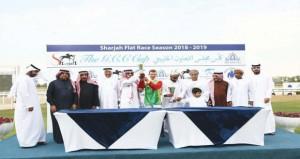 في منافسات كأس الخليج للخيول العربية بالشارقة الحصان ( عارف) للخيالة السلطانية يفوز بالمركز الأول في منافسات الشوط الثاني