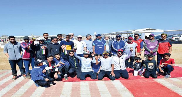 في سباق للناشئين ولمسافة 100 كلم هجرس البلوشي يتوج بلقب المسابقة الدولية للقدرة والتحمل ببركاء