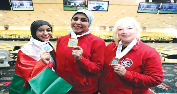 في افتتاح البطولة العربية للبولينج السيبانية تحصد أولى الميداليات للسلطنة بفردي السيدات منتخب الرجال يتراجع في الأشواط الأخيرة ومصر تهيمن على ميداليات الفردي