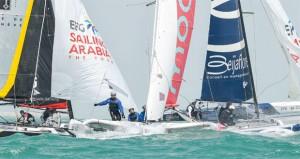 في ختام الجولة الرابعة للطواف العربي بالدقم