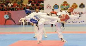 ختام البطولة الأولى لقوات السلطان المسلحة للتايكواندو لعام 2019م