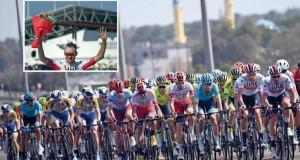 ألكسندر كريستوفر يخطف لقب الجولة الأولى لطواف عمان 2019