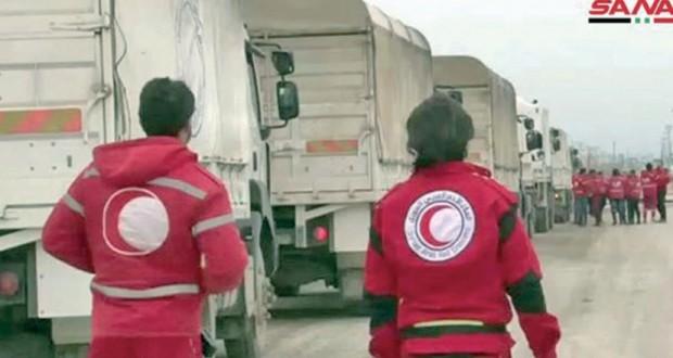 دمشق وموسكو تعلنان فتح ممرين إنسانيين لـ(نازحي الركبان)