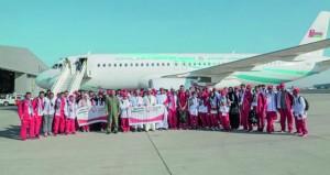 بعثة الأولمبياد الخاص العماني تصل مدينة أبوظبي وسفير السلطنة في مقدمة المستقبلين