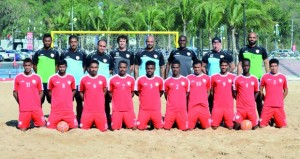 منتخبنا الوطني للقدم الشاطئية يستهل مشواره اليوم بلقاء المنتخب العراقي في نهائيات كأس آسيا بتايلاند