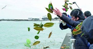 اليابان تحيي ذكرى (تسونامي) وكارثة (فوكوشيما)