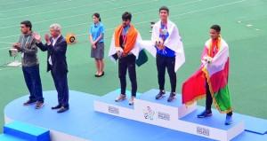علي البلوشي يحقق برونزية 200 متر في ختام بطولة آسيا لألعاب القوى للناشئين