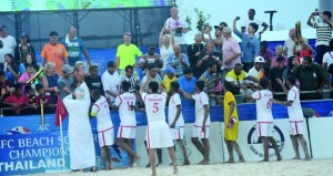منتخبنا الوطني للقدم الشاطئية يتأهل إلى مونديال باراجواي بعد اجتيازه المنتخب الفلسطيني بركلات الجزاء