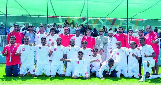 منتخباتنا الوطنية ترفع حصيلتها إلى 28 ميدالية ملونة ومنتخبنا الوطني للقدم للذهبية في دورة الأولمبياد الخاص العالمي