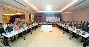 المجلس الدولي للرياضة العسكرية لقارة آسيا يعقد اجتماعه السادس