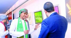 مشاركة فنية عمانية في ملتقى بصمات الفنانين التشكيليين العرب بمصر