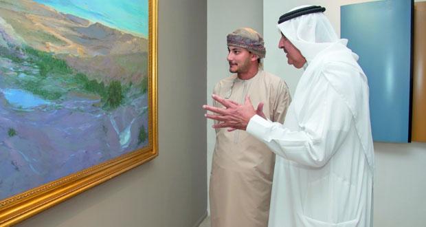 """بيت مزنه يستضيف المعرض الفني البحريني """"بالتوازي"""""""