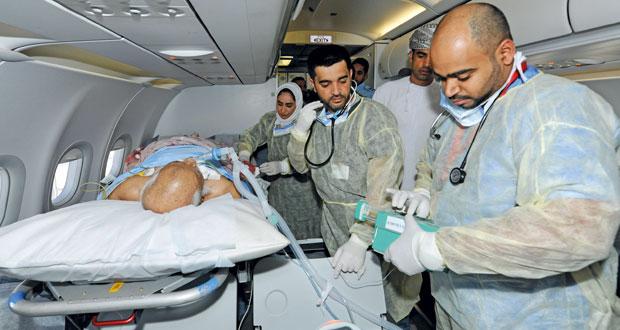 رحلة من سلاح الجو لنقل مواطن مريض من إيران