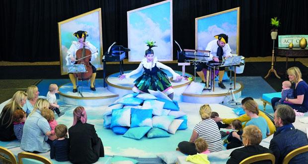 «امبينو» عرض مخصّص للأطفال الرضع بدار الأوبرا السلطانيّة يأتي فـي السياق الترفيهي للمسرح الغنائي
