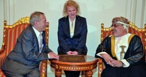 رئيس مجلس الشيوخ التشيكي يصل السلطنة