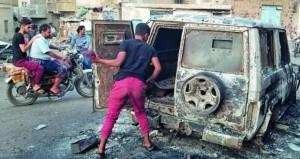 اليمن : مقتل وإصابة العشرات في معارك بالضالع والتحالف يستهدف مواقع لـ(بدون طيار) في صنعاء