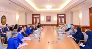 بحث آفاق التعاون الثنائي بين السلطنة والتشيك في عدد من المجالات