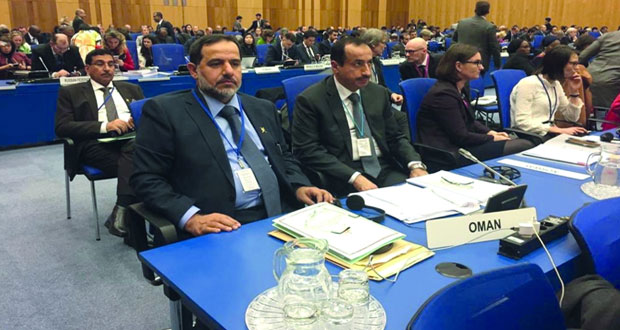 السلطنة تشارك في المؤتمر الوزاري والدورة الثانية والستين للجنة المخدرات بفيينا