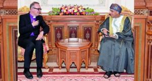 فهد بن محمود يستقبل رئيس اللجنة الوطنية الألمانية للاتحاد اللوثري العالمي بجمهورية ألمانيا الاتحادية